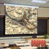 Draper Targa 92 HDTV, моторизированный экран