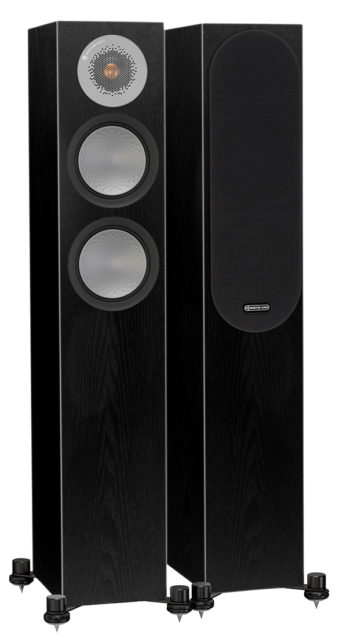 Monitor Audio Silver 200 - black oak
