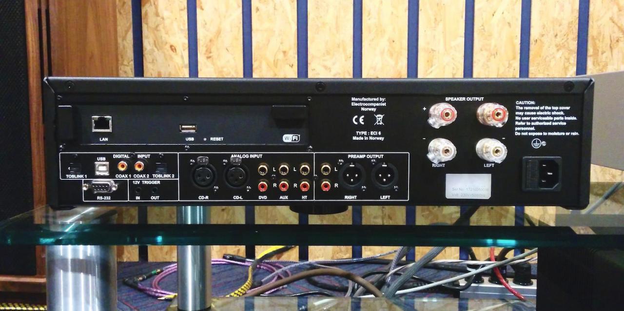 Тест сетевого проигрывателя/усилителя Electrocompaniet ECI 6DX. Близок к совершенству.