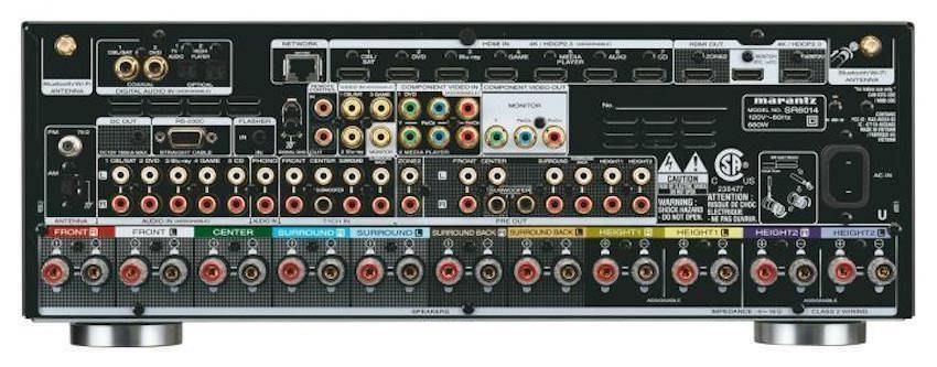AV-ресиверы Marantz SR5014 и SR6014: модули гипердинамичного усиления HDAM и поддержка Dolby Vision, HDR10 и HLG